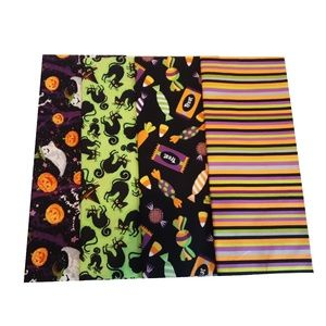 4ct Fat Quarter Quilt Fabric Halloween 3